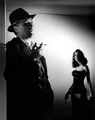 The term film noir describes a type of film that is very dark in its outlook the word noir is french for black and it was during the 1940s that film